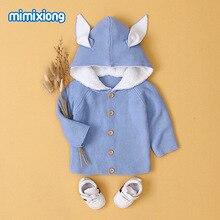 Для новорожденных милый, для новорожденных и малышей кроличьим мехом ткань, свитер, пальто, верхняя одежда для малышей на осень, Зимняя одежда