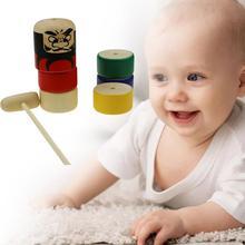 Деревянные головоломки медведь стек Cupes Развивающие детские игрушки цвета радуги фигуры для детей складные башни забавные стопки чашки номер буквы игрушки