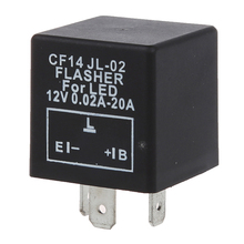 LED INDICATOR FLASHER RELAY REPEATER E.L.B 3PIN CAR MOTORCYCLE