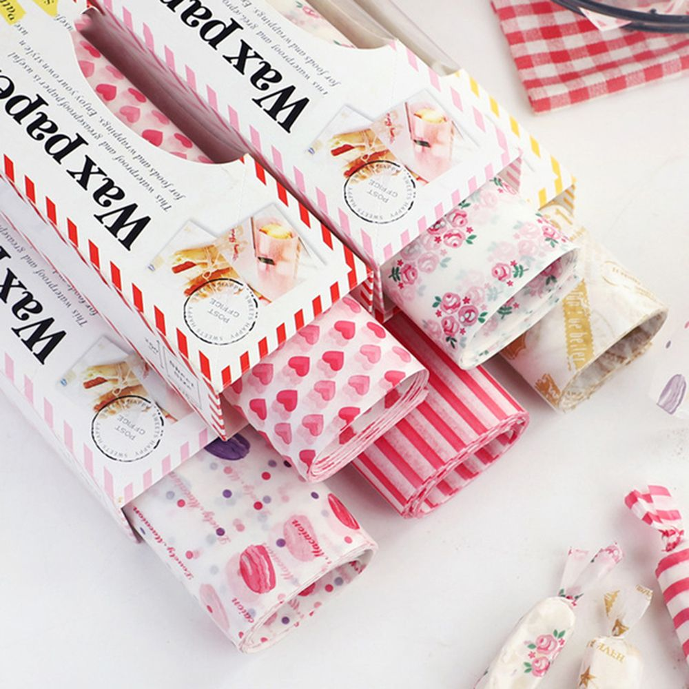 Wax Paper Food Grade Grease Paper Food Wrappers Wrapping Paper For Bread Sandwich Burger