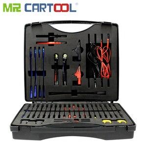 92 шт. изолированный терминал комплект клеммы обжимной провод кабель для автомобиля электронная система управления диагностический тест по...