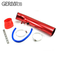air intake pipe 76mm FOR Turbo Air Filter Supercharger Hood Intake Cars Kit filtro de ar esportivo UNIVERSAL