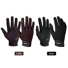 Перчатки для верховой езды, профессиональные перчатки для верховой езды для мужчин и женщин, спортивные перчатки унисекс для бейсбола и софтбола