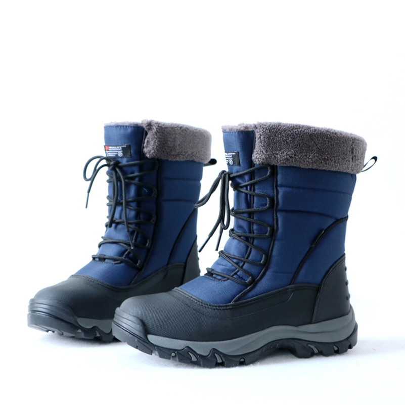 Rose town Boys Girls Hiking Boots Boys Waterproof Snow Boots Winter Boots Sneakers