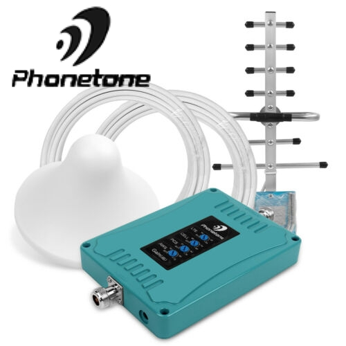 Cell Phone Signal Booster For US/CA 2G GSM 3G 4G LTE Verizon AT&T 700/ 850/1700/1900MHz T-Mobile Repeater For Voice/Data Signal
