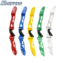25Archery Recurve Bow Handle Takedown Grip ILF General Purpose Interface Competition Hunting Shooting Training Long