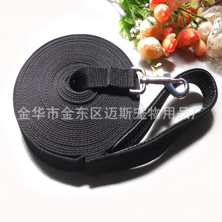 Hot Selling 10 M Foam Tracking Hand Holding Rope Large Dogs Traction Belt Profession Customizable Manufacturers Direct Selling W