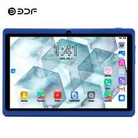 BDF 7 אינץ הילדים Tablet Pc אנדרואיד 4.4 Allwinner A33 Quad Core Bluetooth WiFi ילדי ילדים BabyPAD אנדרואיד Tablet 7 8 9 10 10.1