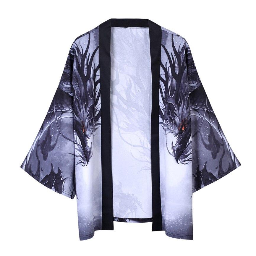 Hddec8fd8906f48af876a97699b523302O Men's Windbreaker Coat Autumn Long Sleeve Lovers Fashion Retro Robe Loose National Print Creative Top Outwear Plus Size M-2XL A3