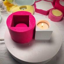Домашний декор «сделай сам» геометрическая форма в виде свечи