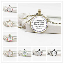 Religious Jewelry Crystal Glass Scripture Bible Pendant Alloy Exquisite Necklace цена
