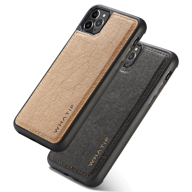 Luxury Kraft Phone Case for iPhone 6S 7 8Plus X XR XS MAX 11 11 Pro MAX 360 Full protection cover Fhx 9K for Samsung S8 S9 S10