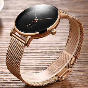 Image 4 - 2020 Luik Merk Luxe Vrouwen Casual Horloge Waterdicht Horloge Vrouwen Mode Jurk Alle Rvs Dames Klok Reloj Mujer