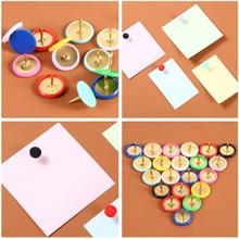 Office Home Colorful Drawing Pins Pushpin Thumbtack Cork Board Push Pin Photo Wall Map Markers