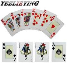 Техасский Холдем игральные карты пластиковые водонепроницаемые глазурь покер карты 2,48*3,46 дюймов Pokerstar настольная игра