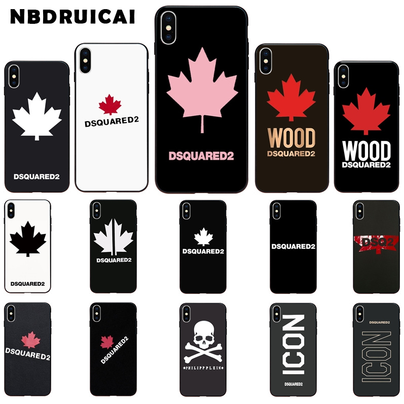 NBDRUICAI Italy Luxury Brand High Quality Silicone Phone Case For IPhone 11 Pro XS MAX 8 7 6 6S Plus X 5 5S SE XR Case
