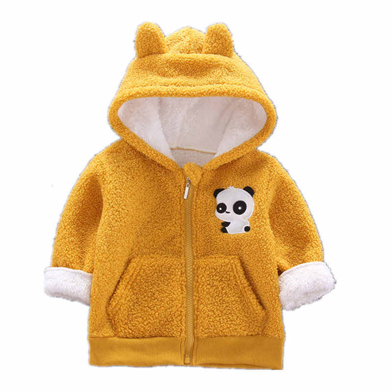 ฤดูใบไม้ผลิฤดูใบไม้ร่วงฤดูใบไม้ร่วงเด็กทารกสาวเสื้อผ้าผ้าฝ้ายเสื้อเด็กเด็กกีฬาทารกสัตว์ Panda เสื้อผ้า