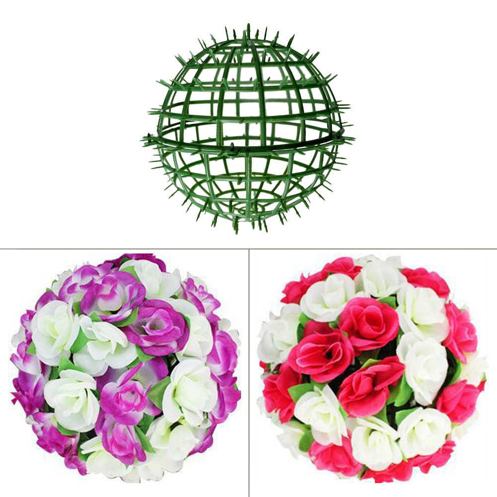 Prateleiras de plantas ao ar livre parede artificial painéis de plástico titular para diy casamento flor bola rack fundo arranjo flor prateleira