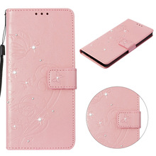 Flower Diamond Flip Wallet Leather Case For Huawei Mate 20 Mate 10 P20 Pro Lite P Smart P9 Lite Mini Nova 2i 2 Lite Cover Coque wallet case for huawei p20 lite pro huawei nova 3e 2i pu leather case for huawei p20 plus mate 10 lite p20pro coque cover nova2i