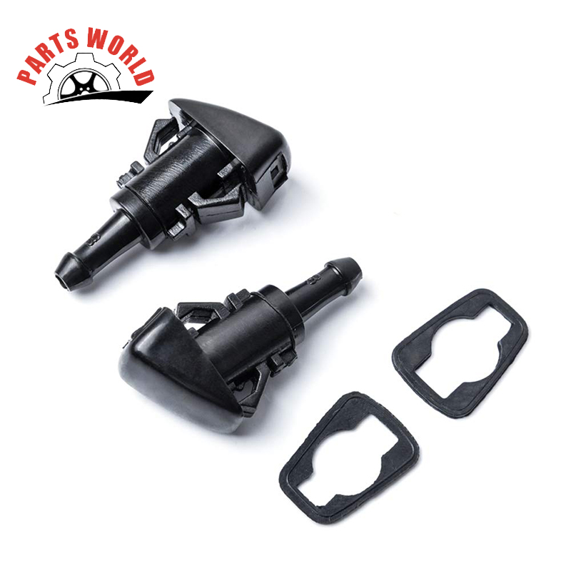 Front Windshield Washer Nozzles - For Chrysler, Dodge, Jeep, Ram - Replaces OEM #: 4805742AB, Spray Jet Kit (pack Of 2)