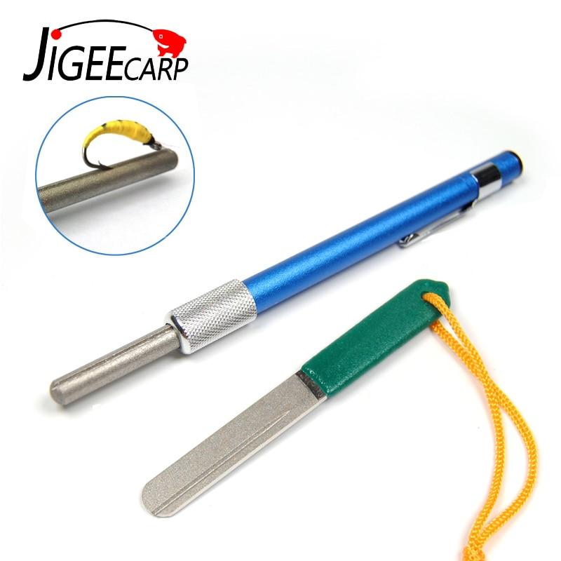 Diamond Coated Fishing Hook Hone Sharpener Fishing Accessory Fishing Tool