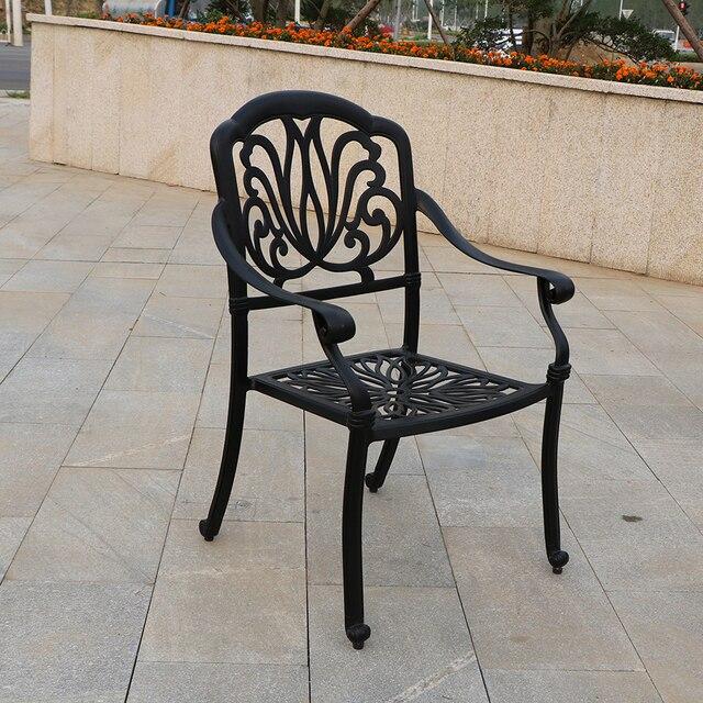 Elizabeth style chair garden metal chair 1