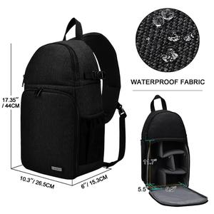 Image 2 - CADeN Camera Bag Backpacks Shoulder Sling Bag Waterproof Nylon Shockproof Scratch Resistant DSLR Men Women for Canon Nikon Sony