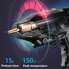 Hot Melt Glue Gun Lithium Electric Rechargeable Hot Melt Glue Gun Universal Wireless Hot Melt Glue Gun With10 pcs * Glue Sticks cheap ACEHE CN(Origin) 1 pcs * Glue Melting Gun 10 pcs * Glue Sticks Home DIY 100-240v Copper (diameter) 2mm 120 minutes (diameter) 7mm