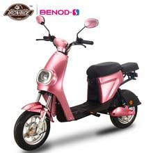 BENOD – trottinette électrique pour femmes, batterie au Lithium, 48V, Protection de l'environnement, moteur de vélo électrique, 50KM