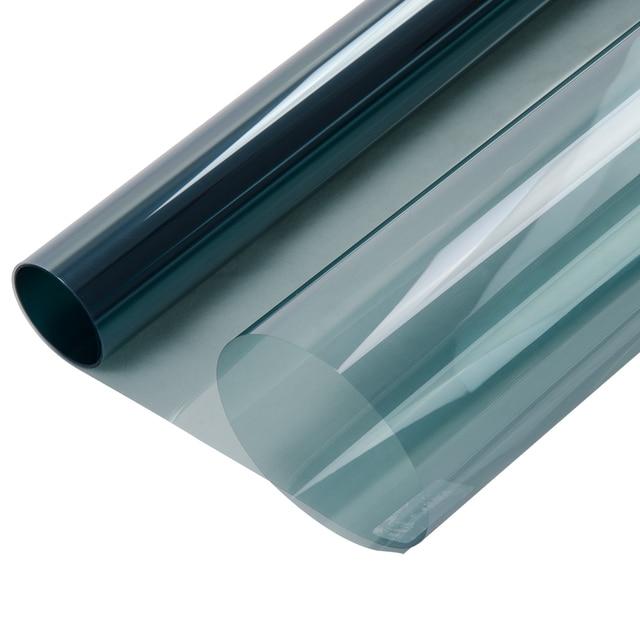Photochromic Film 20%-75% VLT 50*100/200/300/500cm Blue Car Home Window Tint Glass Film Summer UV Protector 3