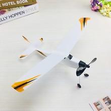 Пена Самолет Резиновая лента самолет рыцарь Резиновая лента сила 3D молния самолет кабина тело пластик не-модель самолет