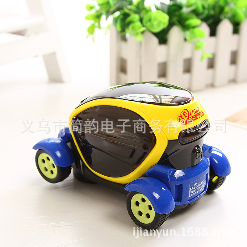 3D Light And Music Universal E-Bike Car CHILDREN'S Toy Concept Car Lighting Effects Stunt Car Toy