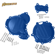 Motorcycle Ignition Protector Clutch Guard Water Pump Cover For KTM 250 350 SX-F XC-F EXC-F For Husqvarna FC 2016 2017 2018 2019 clutch cover protection cover water pump cover protector for ktm 350 exc f excf 2012 2013 2014 2015 2016