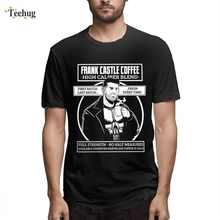 High-Q For Male Punisher T shirt Daredevil Camiseta Novelty Unique Pure Cotton Boy The Skull