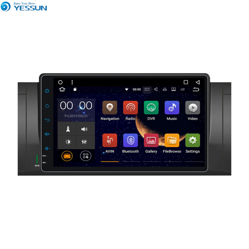 YESSUN Android Radio Car Player For BMW 5 E39 / X5 E53 / M5 / 7 E38 1994~2007 Stereo Radio Multimedia GPS Navigation image