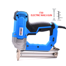 2300W Heavy Duty Electric Nails Gun F30 Brad Framing Tacker elektronarzędzia domowe