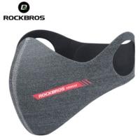 Rockbros велосипедная маска спортивный респиратор Пылезащитный Анти-туман страйкбол маска PM 2,5 Защита дышащий Рот Половина лица маска Крышка