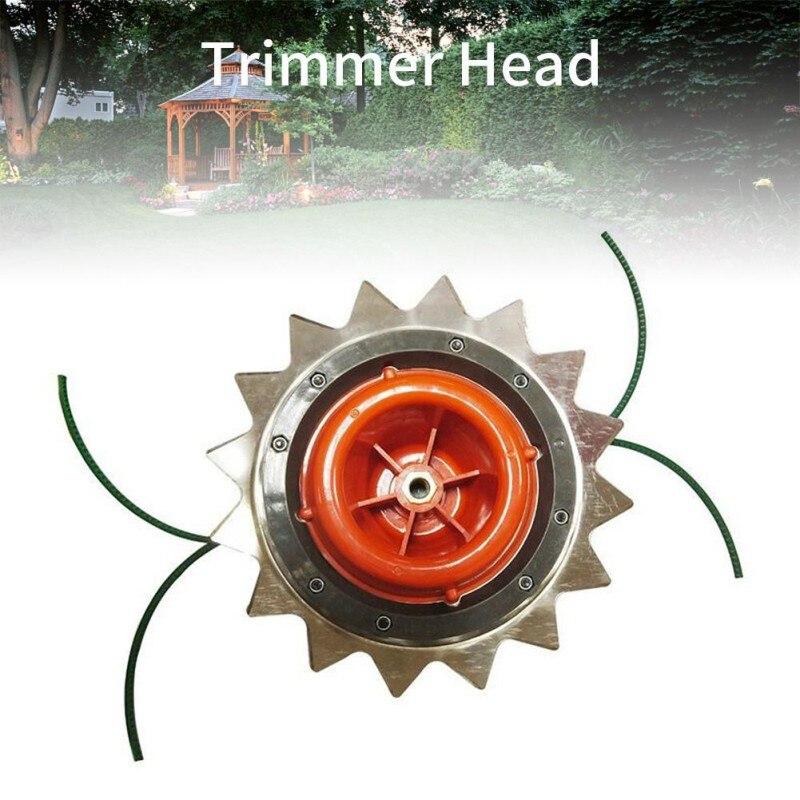 Газонокосилки головка трава Триммер-кусторез головка садовая стриммер косилка высокая твердость двойная головка аксессуары