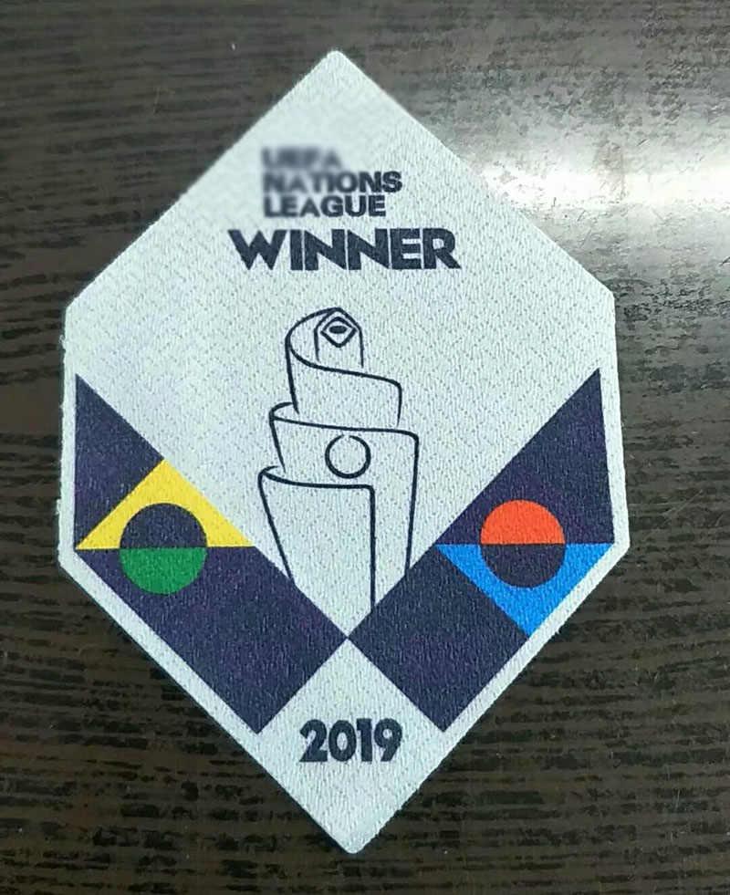 2019 Naties League Winnaar Patch Portugal Champions Patch Voetbal Badge