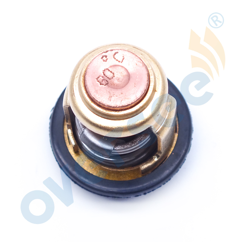 Image 3 - 66M 12411 Thermostat 60 Degrees 140F For Yamaha Mercury Honda Suzuki  4 stroke Outboard Engine  6F5 12411 03 00-in Boat Engine from Automobiles & Motorcycles