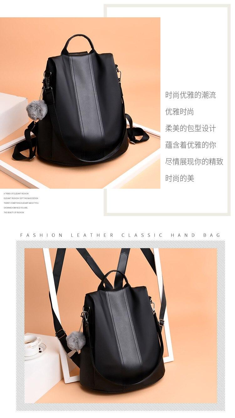 Hddeea38b0ba94ff2a09734492e08fefac 2019 Women Leather Anti-theft Backpacks High Quality Vintage Female Shoulder Bag Sac A Dos School Bags for Girls Bagpack Ladies