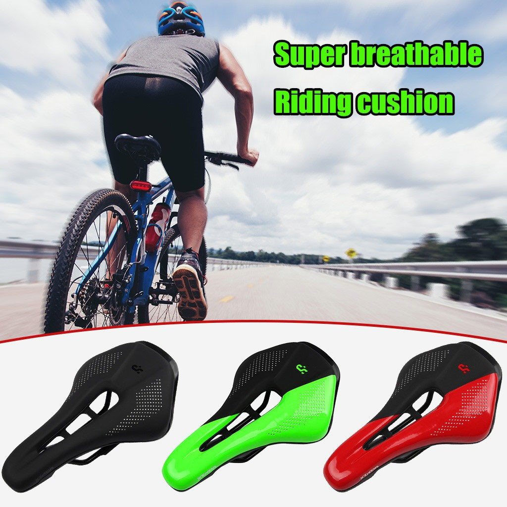 Soft Gel Bicycle Seat Comfort Road Mountain Bike Saddle Cycling Cushion Pad US