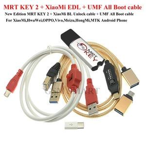 Image 2 - MRT SCHLÜSSEL 2 MRT DONGLE SCHLÜSSEL mrt schlüssel 2 + für xiaomi hongmi 9008 kabel für Coolpad hongmi entsperren konto entfernen passwort imei reparatur