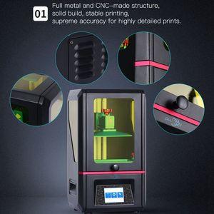 Image 4 - ANYCUBIC stampante 3D Photon SLA resina UV fotopolimerizzazione Impresora 405nm resina Plus stampa formato 3d Drucker impressora resina 3d