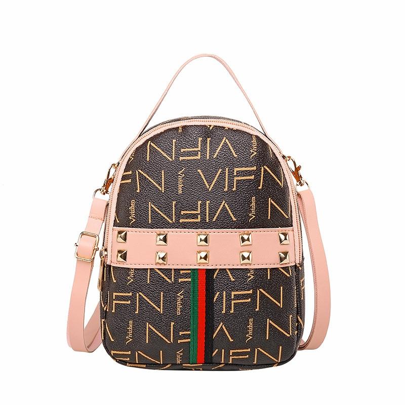 Vento Marea Mini Backpack Crossbody Bag For Teenage Girl Revit Women Shoulder Phone Purse Korean Style New Trendy Female Bagpack