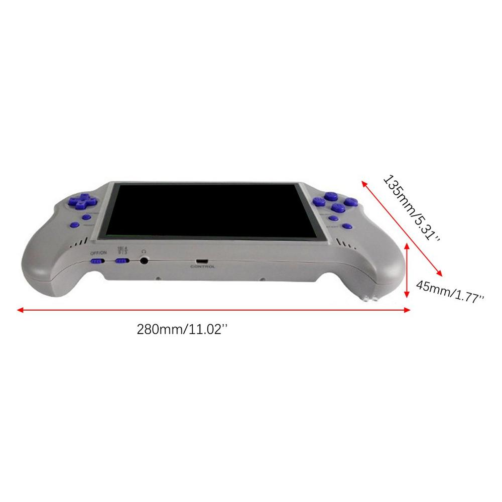 3 Polegada hd tela retro console de jogo 16 gb 3000 jogos clássicos handheld, jogo de vídeo portátil ótimo presente para crianças - 2