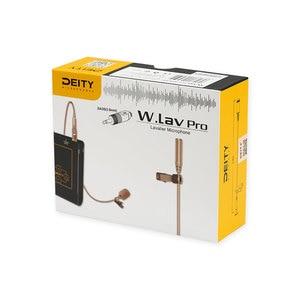 Image 3 - אלוהות W.Lav פרו (DA35) IP57 עמיד למים דירוג 4mm קוטר מקצועי lavalier מיקרופון ליצירת סרטים