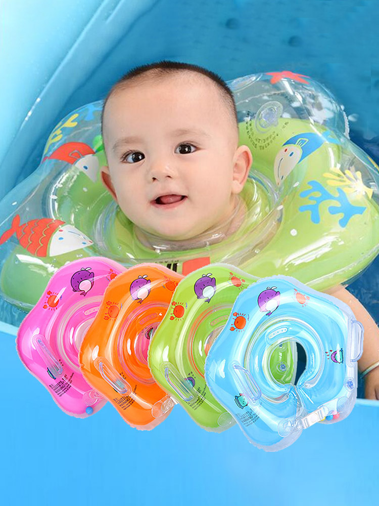 Ring-Tube Circle Bathing Baby-Accessories Infant Float Neck Safety Swimming for Inflatable
