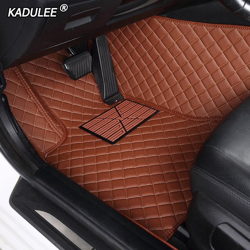 KADULEE Custom car floor mats For Tesla all models Model S Model X car styling accessories automobile foot covers foot Pads|Floor Mats| |  - title=