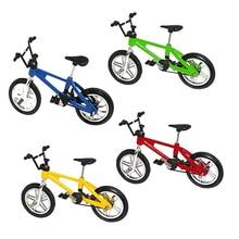 Toy-Set Mini Game Bike-Model Finger-Bike-Set Collection-Decorations Creative